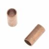 Metal Tube 3.5x7.2x2.5mm Antique Copper